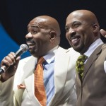 Nephew Tommyand Steve Harvey