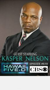 Kasper Nelson on Hawaii Five O