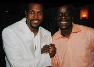 Terry Hodges with Chris Tucker