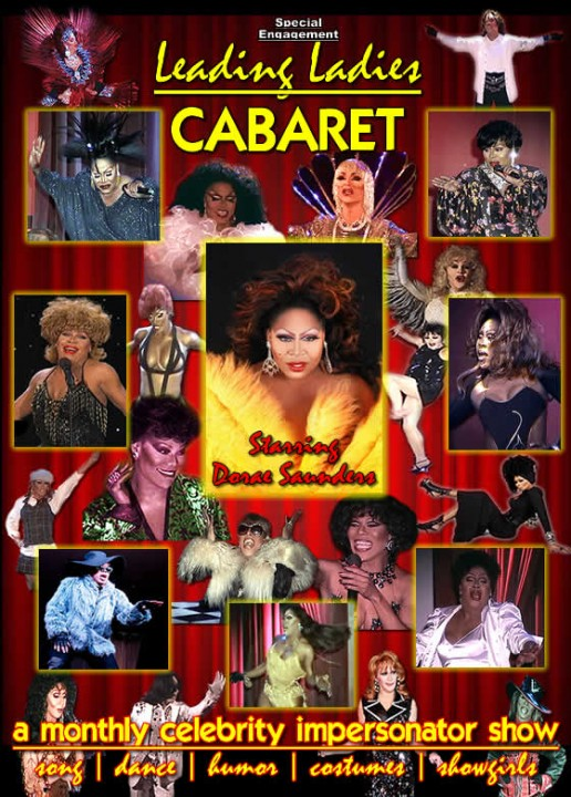 Leading Ladies Cabaret at the Comedy House