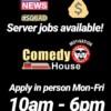 This week the Comedy House is hiring & BLACK KASPER is performing!